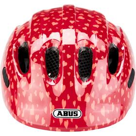 ABUS Smiley 2.0 Casco Bambino, cherry heart